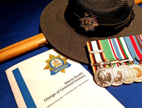 Change of Command Program - Alberta Sheriff's