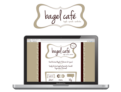 Website - Bagel Cafe