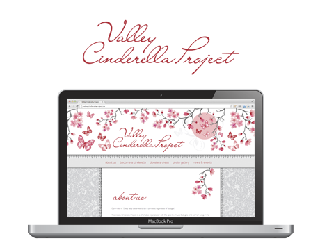 Website - Valley Cinderella Project